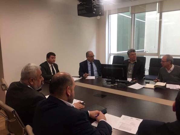 Başkan Kutlu Çevre ve Şehircilik Bakanlığında yatırımları görüştü