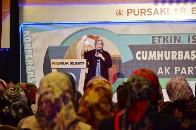 """AK Partili Ayşe Keşir, Cumhurbaşkanlığı sistemini anlattı: """"Cumhurbaşkanlığı Sistemi Türkiye'yi güçlendirecek"""""""