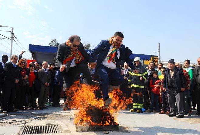 Bursa'da baharın gelişi kutlandı