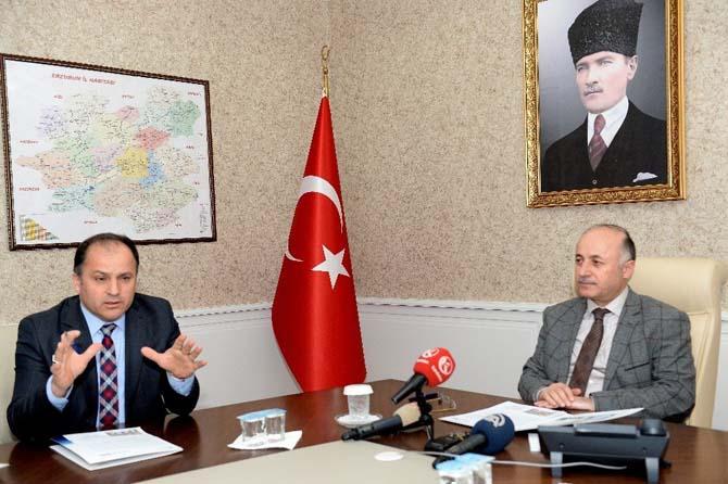 Erzurum'da düzenlenecek olan 6'ncı İstihdam Fuarı istişare toplantısı