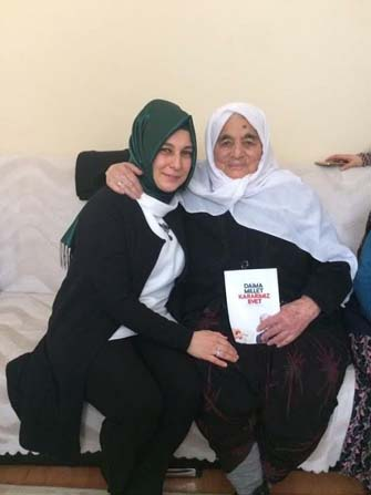 Eskişehir Ak Parti Odunpazarı Kadın Kolları Başkanı Eserkaya'ın Yaşlılar Haftası mesajı