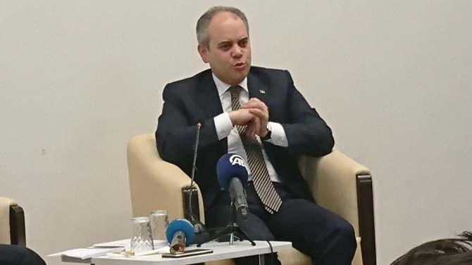 """Bakan Kılıç: """"Ankara'ya yeni stat için düğmeye basmış durumdayız"""""""