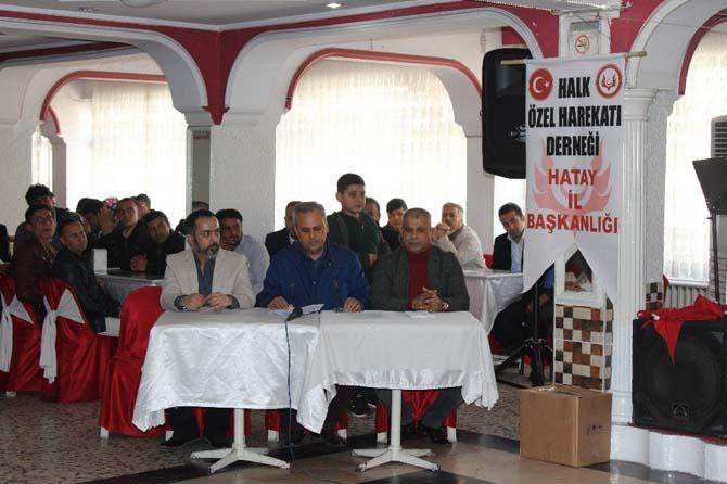 Hatay'da Halk Özel Harekatı Derneği kuruldu