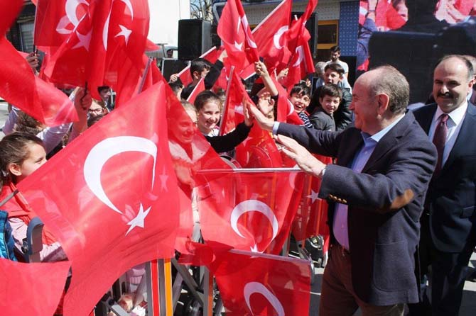 "İBB Başkanı Kadir Topbaş: ""Çatalca'ya 1 milyar yatırım yaptık"""