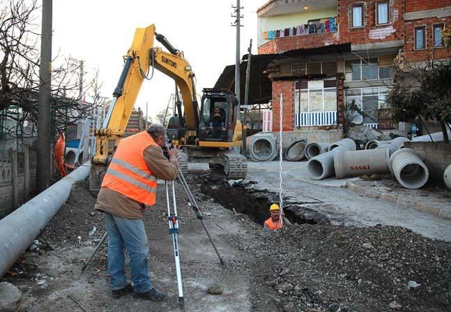 Kocaali'de altyapı projeleri tamamlanıyor