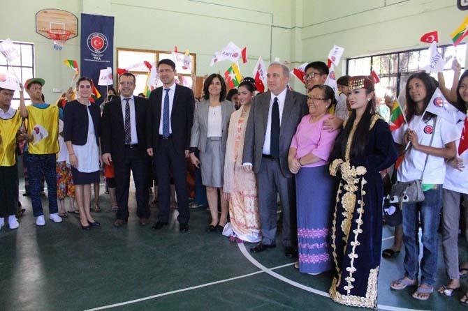TİKA'dan Myanmar'a eğitim alanında destek