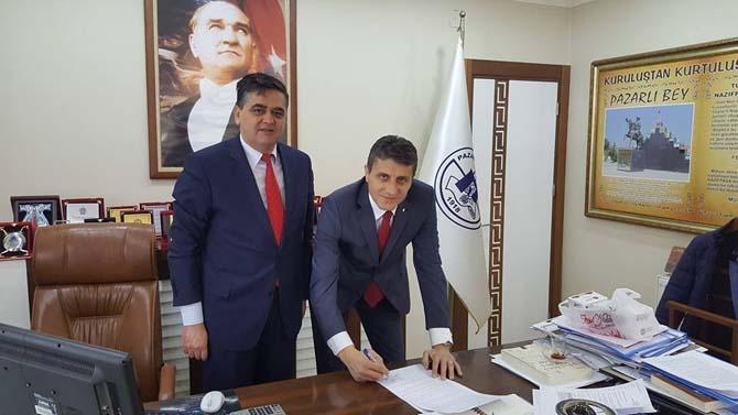 Pazaryeri Belediyesinde maaş promosyonları için protokol imzalandı