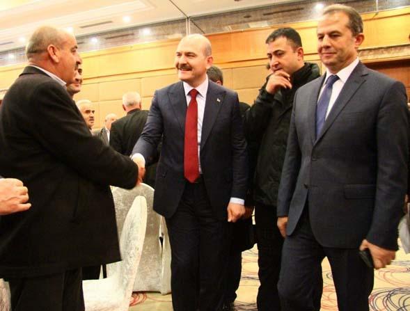 Muhtarlarla bir araya gelen İçişleri Bakanı Süleyman Soylu:
