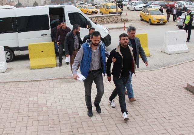 Elazığ'da PKK/KCK operasyonu: 5 şüpheli adliyeye sevk edildi