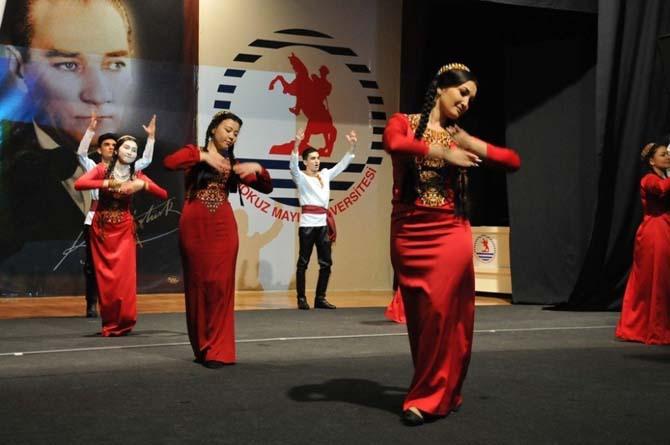 OMÜ'de Türkmen rüzgarı