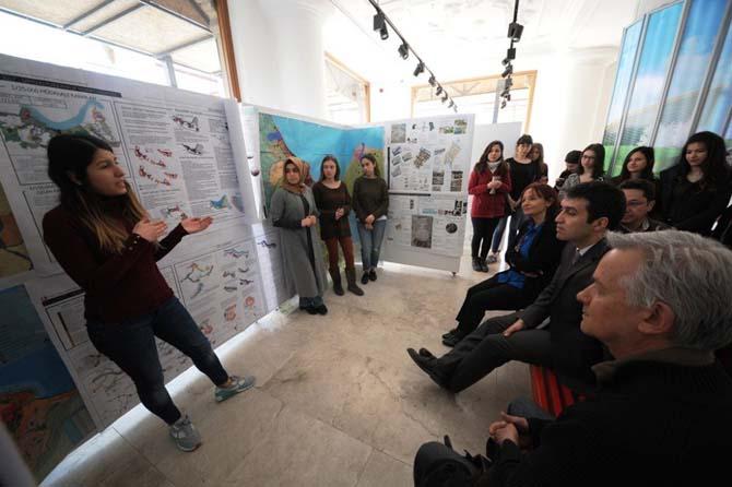 ODTÜ'lü öğrenciler Samsun'u planlayıp sergi açtı