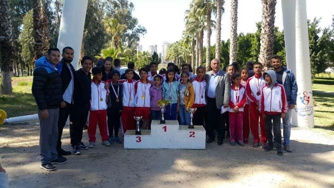Atletizm Geliştirme Projesi Grup Müsabakaları Adana'da yapıldı