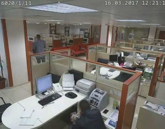 Banka ve vergi dairesini böyle soydular