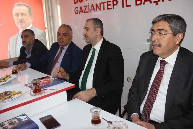 Milletvekili Gül'den partilere teşekkür ziyareti