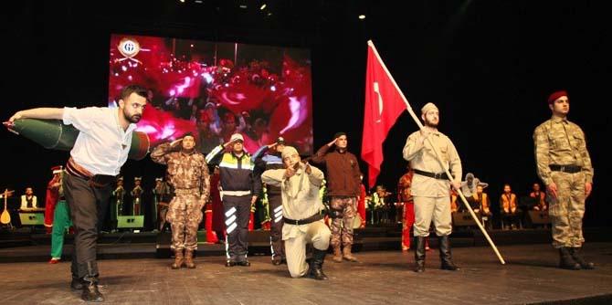 Gaziantep Üniversitesinden konser