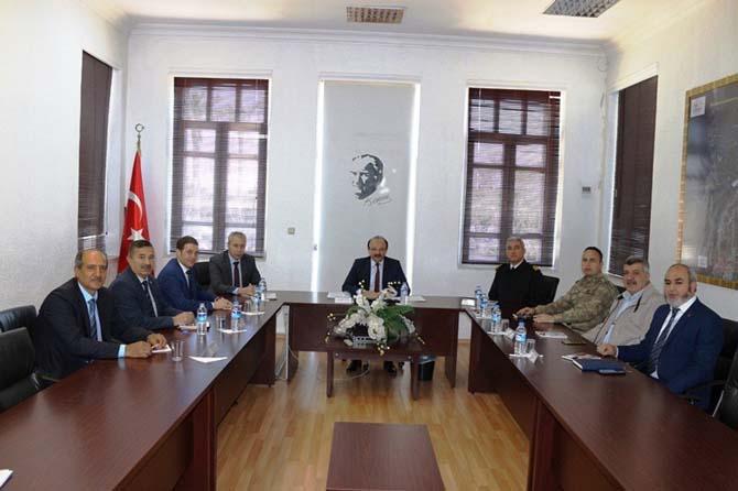 İskenderun'da seçim güvenliği toplantısı