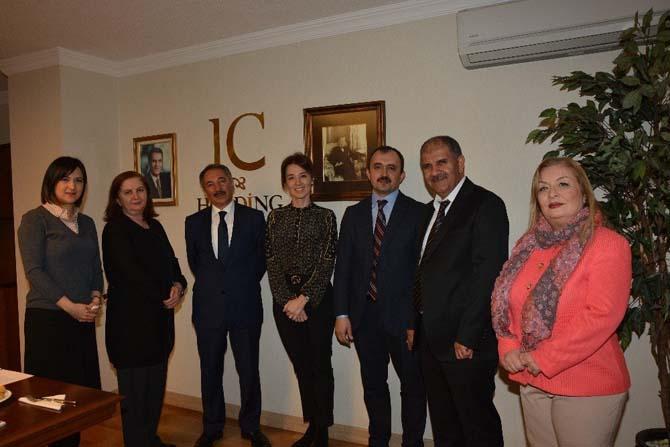 İbrahim Çeçen Üniversitesi ile IC Vakfı karşılıklı işbirliği toplantısı yapıldı