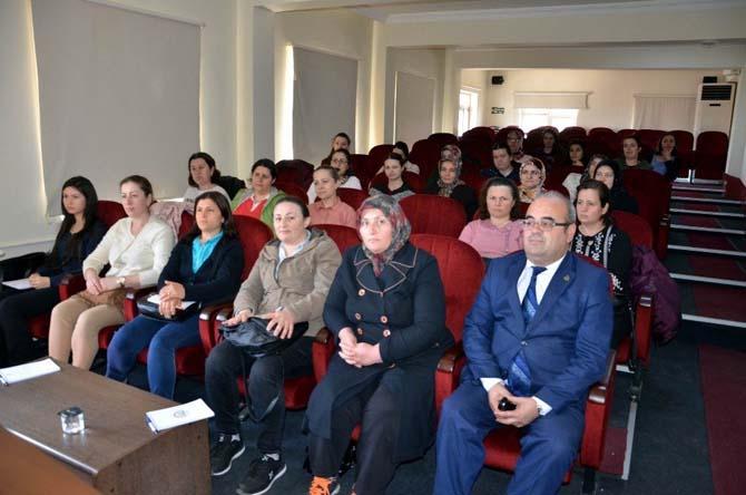 Kadın çiftçilere girişimcilik eğitimi