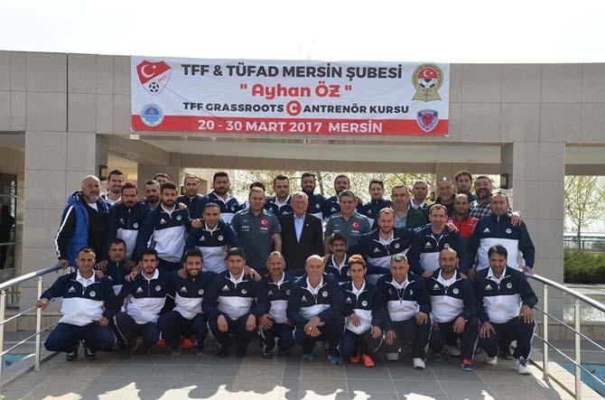 TFF Grassroots C Antrenör Kursu Mersin'de başladı