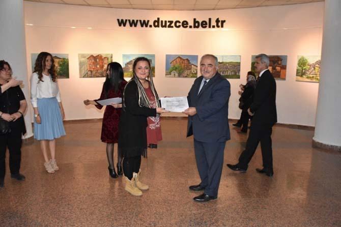 """""""Konuralp"""" konulu resim sergisi açıldı"""