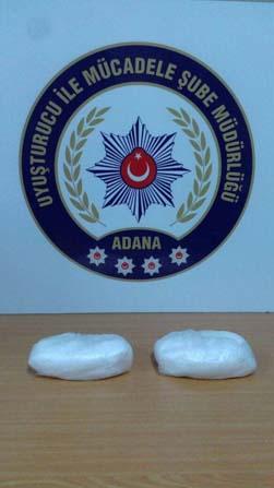 Adana'da 780 gram metamfetamin ele geçirildi
