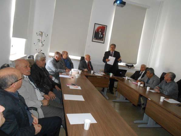 ESAB ve Emirdağ Kent Konseyi yönetici ve üyeleri Afyonkarahisar'da