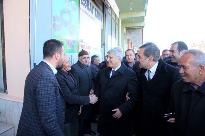 AK Parti Genel Başkan Yardımcısı Demiröz'ün Ahlat ziyareti
