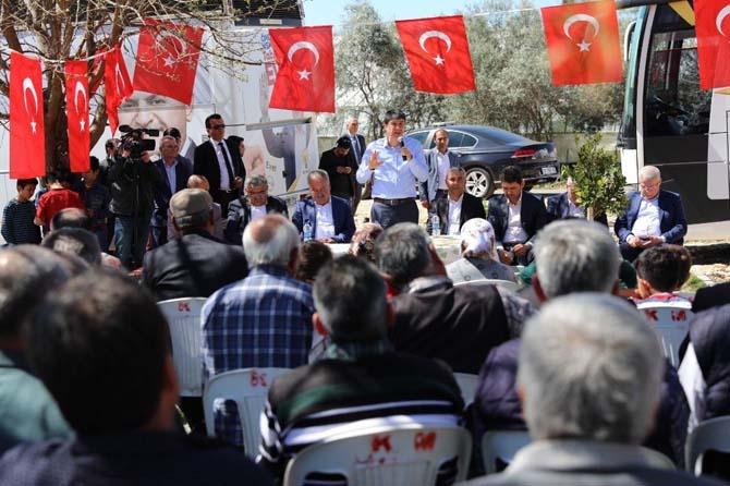 Başkan Türel, Aksu ilçesinde