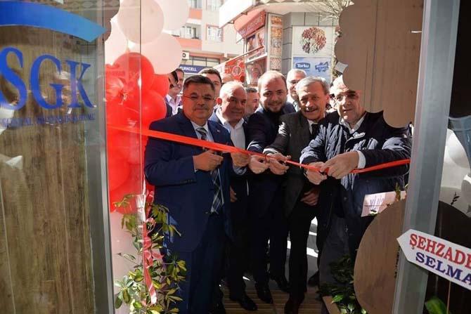 Başkan Yağcı'dan medikal dükkan açılışı