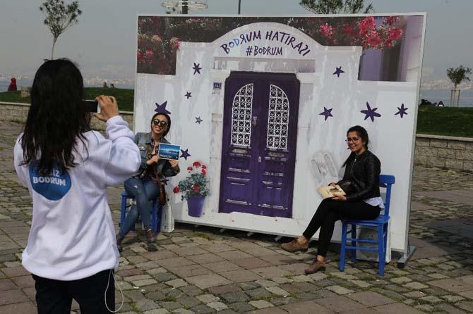 Bodrum Tanıtım TIR'ı İzmir'de ilgiyle karşılandı
