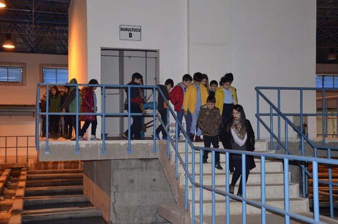 Öğrenciler İçme Suyu Arıtma Tesisi'ni gezdi