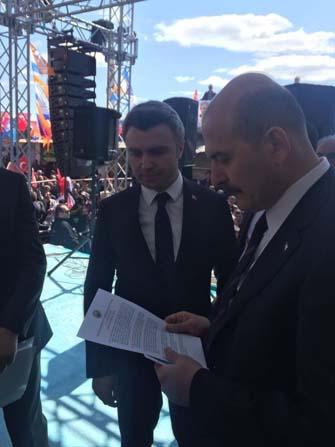 Yazıcı'dan vatandaşlara teşekkür
