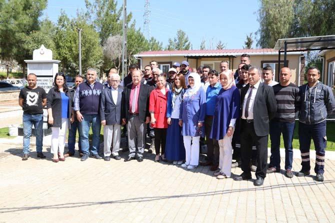 Efeler Belediyesi tüm cenaze işlemlerini Kemer Mezarlığı'nda birleştirdi