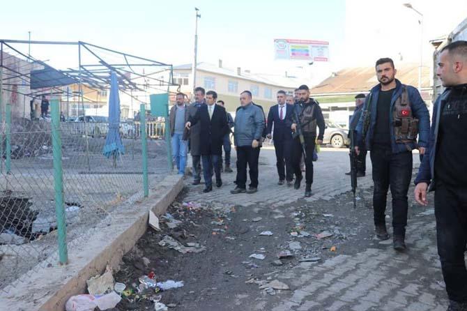 Erzurum DSİ 8. Bölge Müdürü Sadullah Seven Tutak'ta incelemelerde bulundu