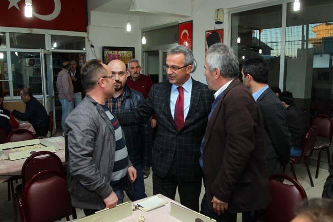 Başkan Köşker, 2B çalışmalarını vatandaşlara anlattı