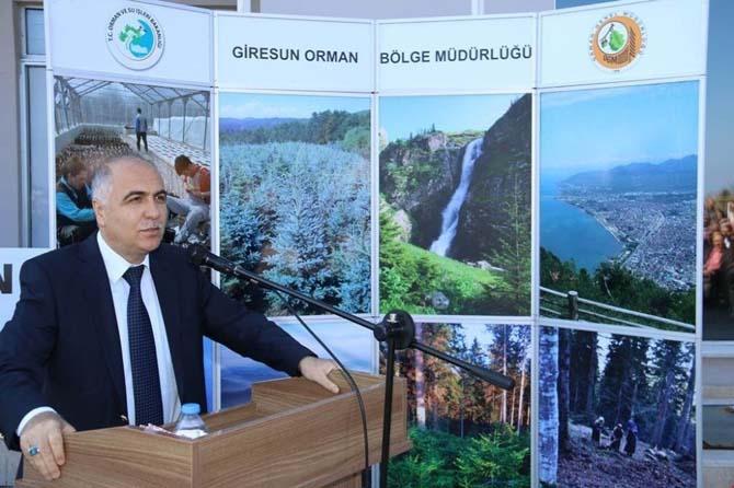 Giresun'da orman haftası etkinlikleri