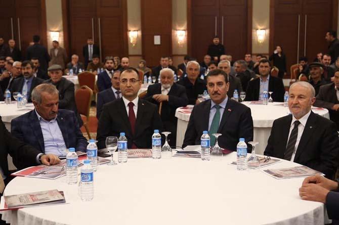 Bakan Tüfenkci, 'Hediyem Kur'an Olsun' kampanyasının tanıtım toplantısına katıldı