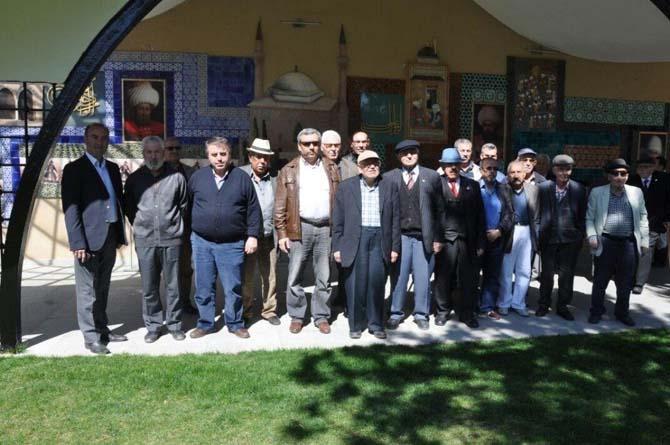 Eskişehir Huzurevi sakinlerinden Bilecik'e ziyaret