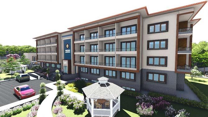 Osmancık Belediyesi Huzurevi inşaatına başladı