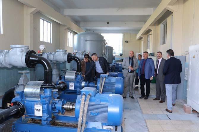 Akhisar'a saatte bin 100 tonluk su verimi