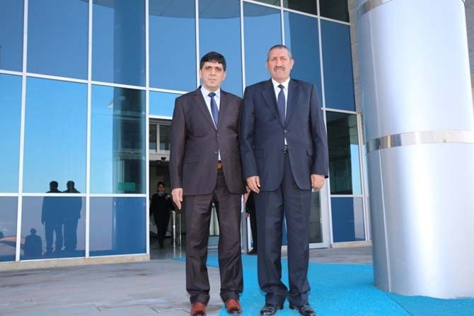 Milletvekili Aras, Rektör Alma'yı ziyaret etti