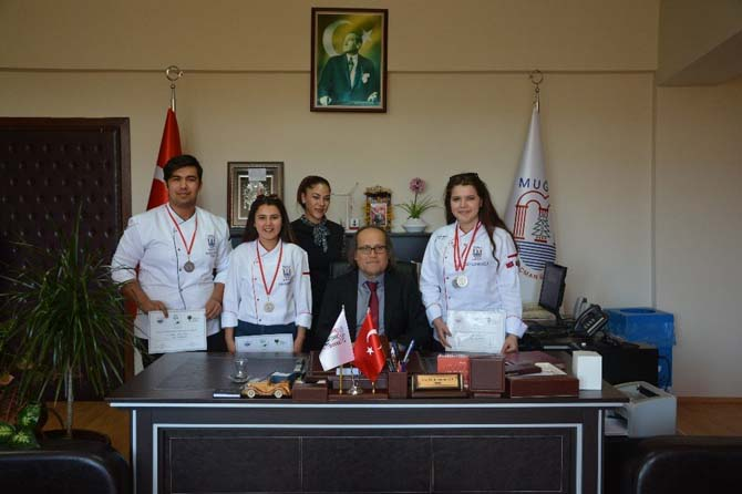 Ortaca Meslek Yüksek Okulu ulusal yemek yarışmasında ödülleri topladı