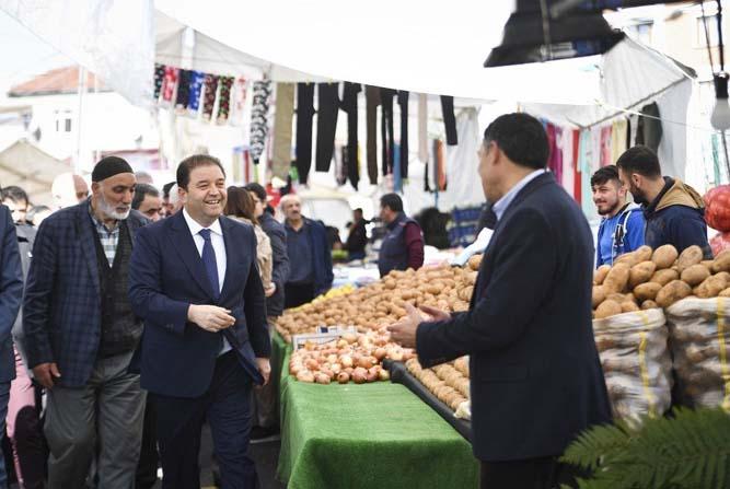 Girne Mahallesi pazarına kavuştu