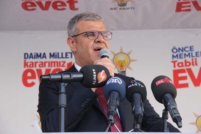 """Başbakan Yardımcısı Kaynak: """"Kılıçdaroğlu aklın yetseydi bir seferde milleten icazet alırdın"""""""