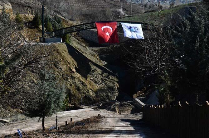 Bakan Tüfenkci, İspendere İçmelerinde incelemelerde bulundu
