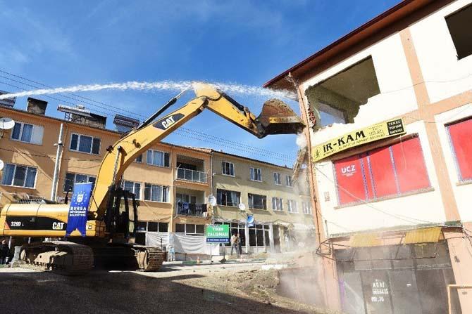 Keles modern tesislere kavuşuyor