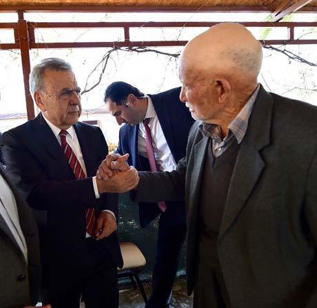 Başkan Kocaoğlu vatandaşlarla buluştu