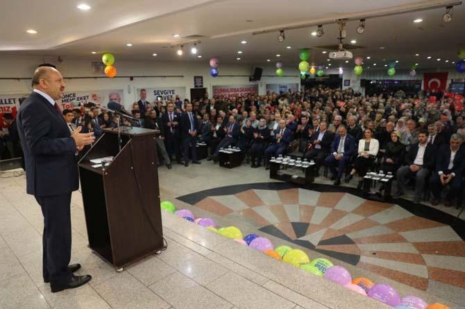 Bakan Fikri Işık, Karamürsellileri 'Evet'e davet etti