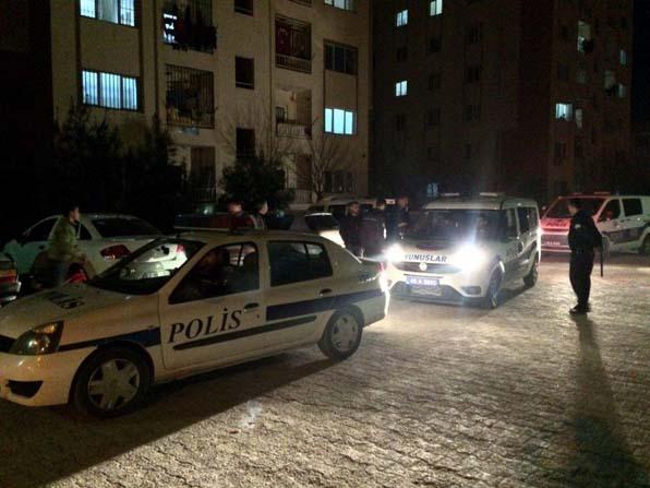 Polise mukavemet gösteren 4 şahıs gözaltına alındı