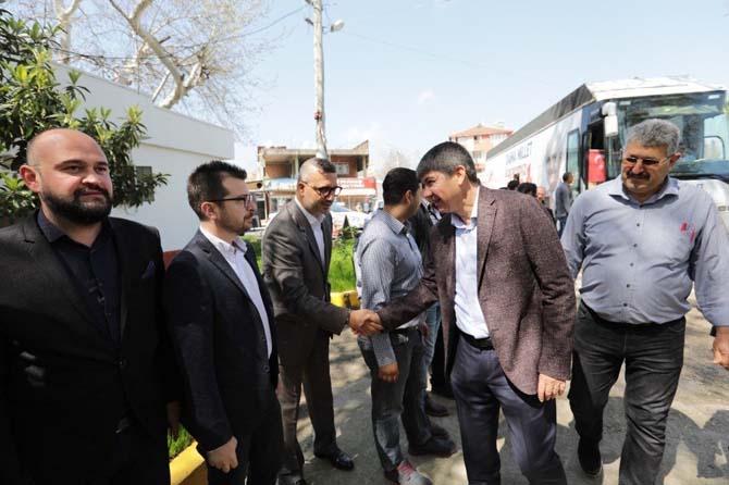 """Büyükşehir Belediye Başkanı Türel: """"Derdimiz hızlı koşmak"""""""